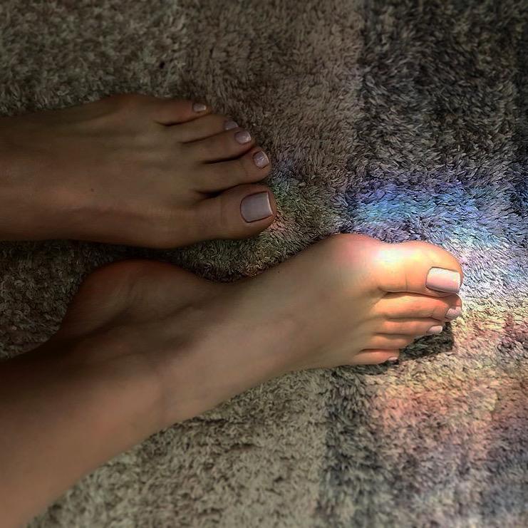 foot on the flloor